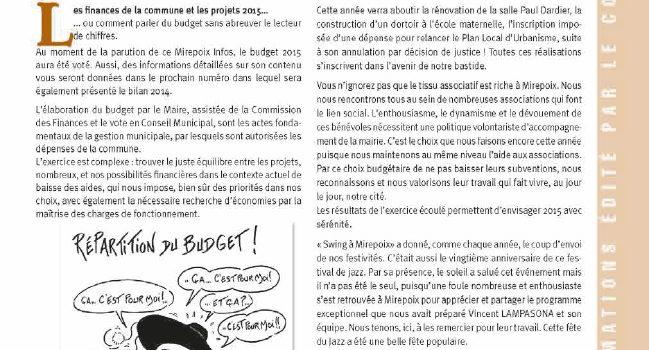 Mirepoix Infos n°137 – Mai 2015