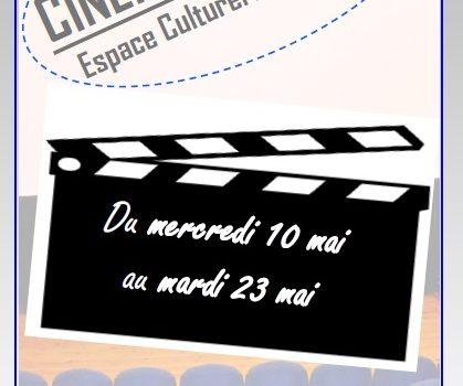 Programme cinéma du 24 Mai au 06 Juin 2017
