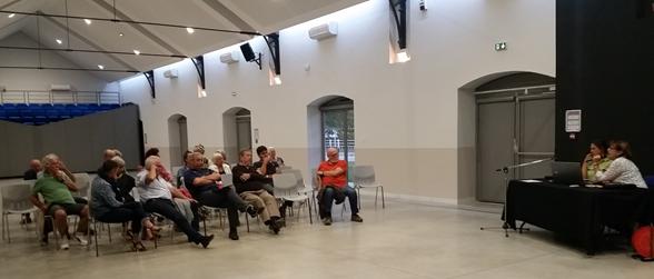 Peu de mirapiciens présents pour cette réunion publique