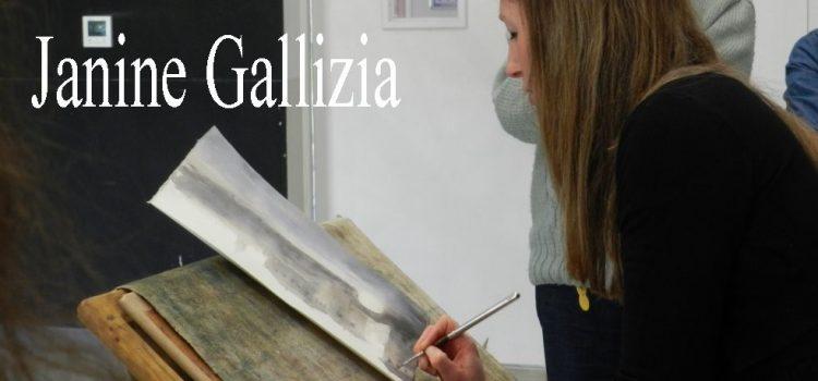 L'artiste Janine GALLIZIA à Art'Mania