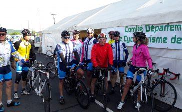 Cyclo club de Mirepoix et la 15ème Route à Jojo