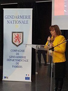 Les gendarmes ont honoré Sainte Geneviève