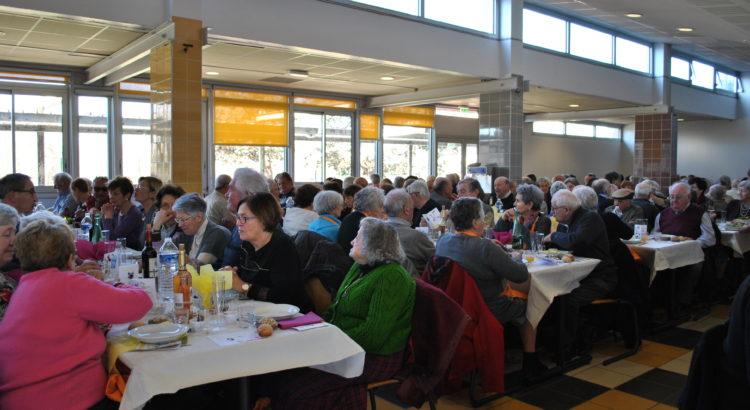 Le repas des aînés, prévu initialement le 21 février, est reporté au mercredi 18 avril 2018 à 12 h au restaurant de la Cité scolaire.