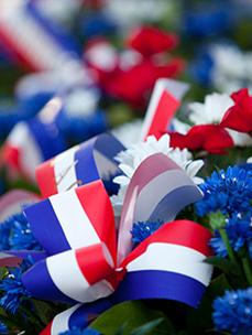 Commémoration de l'armistice du 8 mai 1945 et de la journée de déportés du 29 Avril