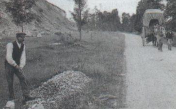L'entretien des routes et chemins à travers l'histoire