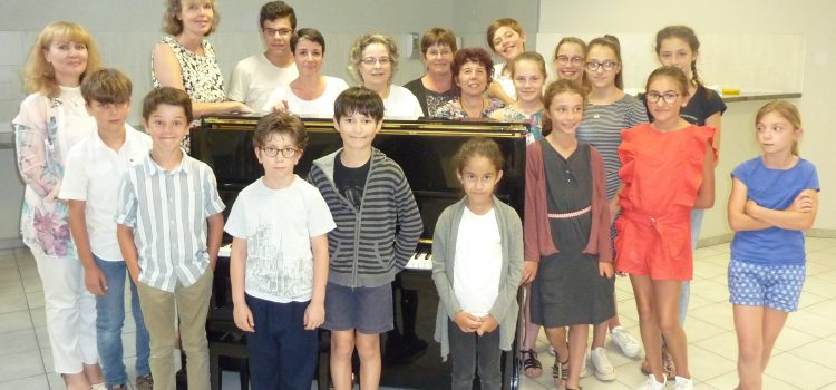 Audition de piano des Artivores