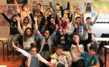 Les 6ème 2 du collège de Mirepoix, lauréats d'un concours national