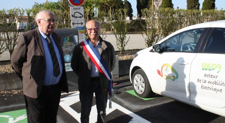 Les véhicules électriques peuvent être rechargés à Mirepoix