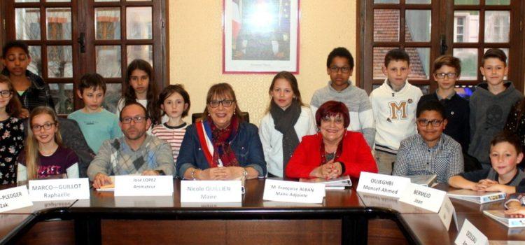 Le Conseil Municipal d'Enfants au travail