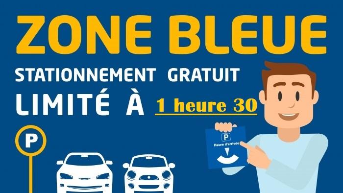 STATIONNEMENT ZONE BLEUE EFFECTIF LE 1er MAI 2019
