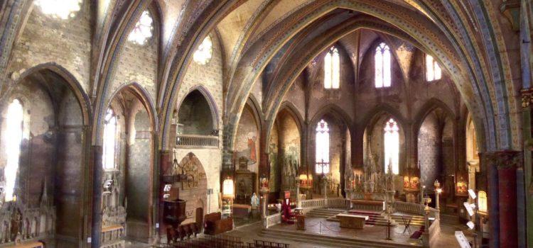 L'ancienne cathédrale Saint Maurice : Restauration intérieure