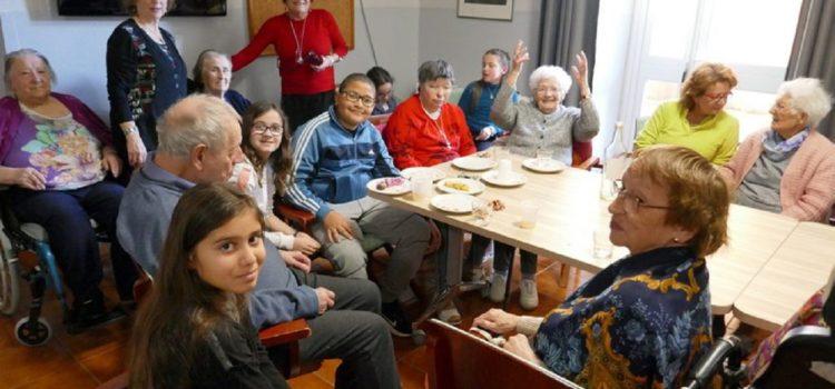 Le Conseil Municipal Enfants en visite à la Maison de retraite