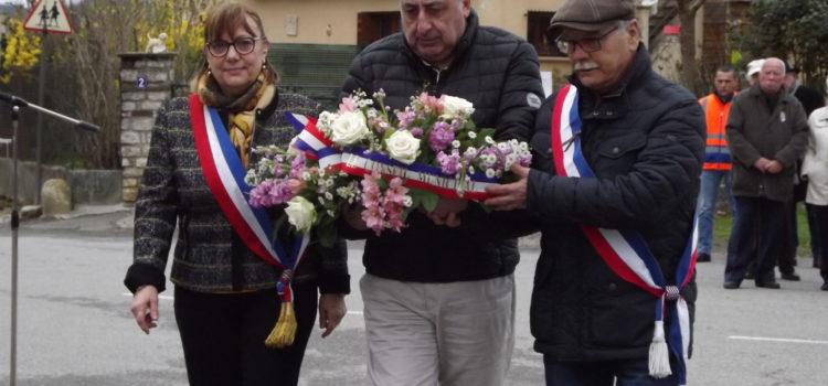 Commémoration de la fin de la guerre d'Algérie