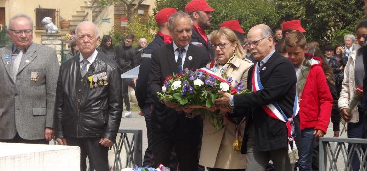 Commémoration de la fin de la seconde guerre mondiale
