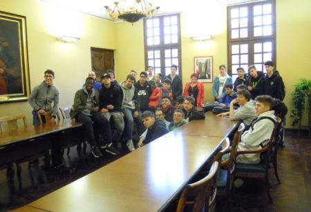 Visite d'étudiants italiens dans le cadre d'Erasmus