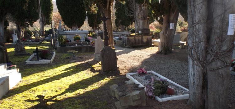 Avis Municipal – Procédure de reprise des concessions à l'état d'abandon au cimetière de SAINT AULIN