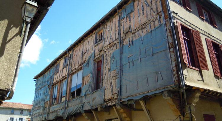 Restauration de la façade OUEST de l'hôtel de ville