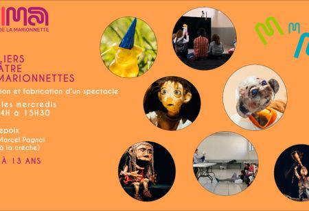 MIMA – Ateliers Théâtre de Marionnettes – Enfants/Ados