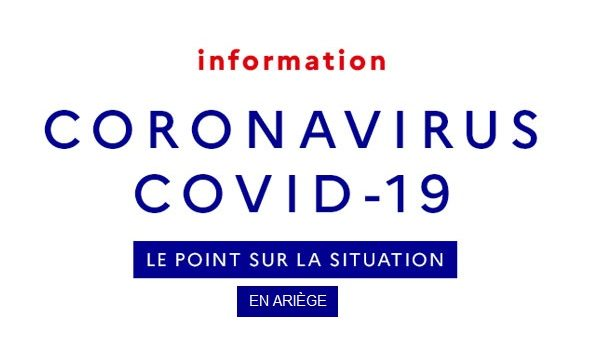 Covid 19 → Le point sur la situation en Ariège