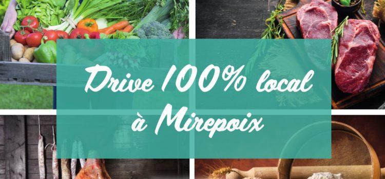 Drive 100% local à Mirepoix – Halles Fermières