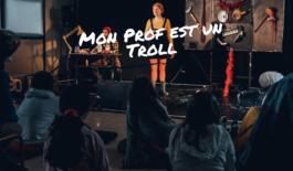 Mima – Spectacle à l'école Jean Jaurès de mirepoix de la «Cie La Fleur du Boucan»