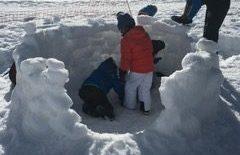 École maternelle Jean Jaurès – Jeux de neige, joies d'hiver …