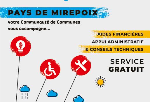 Le Programme d'Intérêt Général (PIG) du Pays de Mirepoix